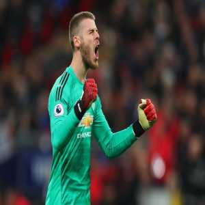 David de Gea made 11 saves for Manchester United vs Tottenham Hotspur today; the most saves he's made in a top-flight league match without conceding a goal.