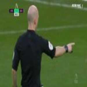 Nathan Ake goal line clearance against Everton 49'