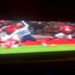 Paul Pogba tackle on Dele Alli (yellow card)