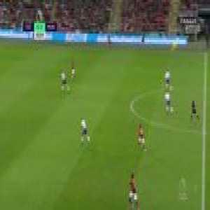 Tottenham Hotspur 0:[1] Manchester United - Marcus Rashford 44'
