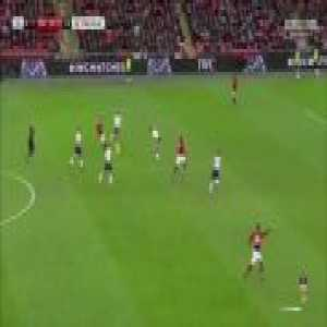 Ander Herrera ending the night with a no-look pass