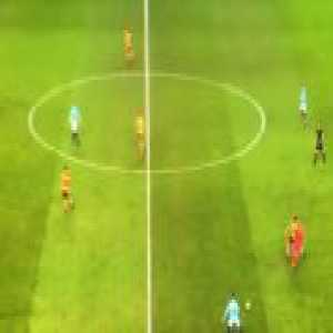 Ederson playing in midfield vs Wolves