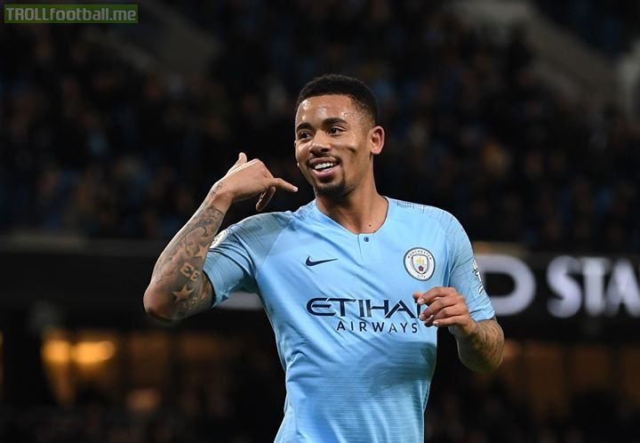 Man City 3-0 Wolves   Gabriel Jesus scores twice as the champions keep up the pressure on leaders Liverpool