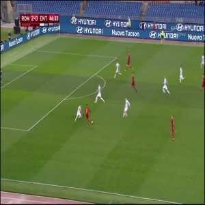 Roma [3]:0 Virtus Entella - Patrik Schick 47'