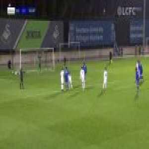 Swansea City U23 0-[1] Leicester City U23 - Admiral Muskwe 45' (Penalty)