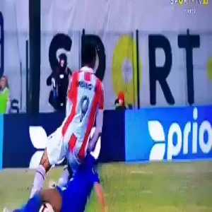 After seasons cleaing up his act, Pepe does this in his first game back at Porto