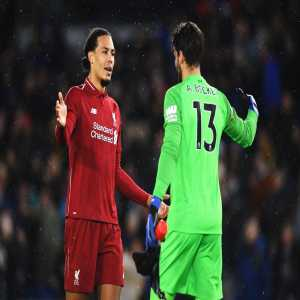 Liverpool have the most clean sheets (13) and have conceded the fewest goals (10) in Europe's top 5 leagues this season.