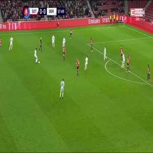 Craig Bryson (Derby County) disallowed goal vs. Southampton (38')