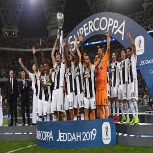 Juventus have now won the Supercoppa Italiana a record 8 times, one more than AC Milan and three more than Inter Milan