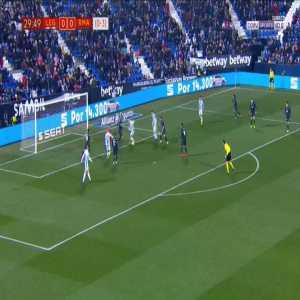 Leganes 1-0 Real Madrid [1-3 on agg.] - Martin Braithwaite 30'