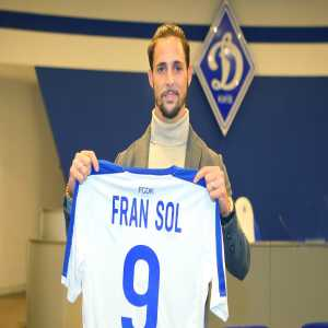 Official: Dynamo Kyiv signs Spanish striker Fran Sol from Willem II for 3,5 million euros.