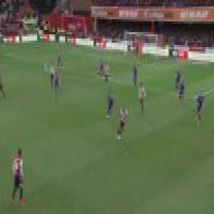 The Championship has quality and depth. Brentford were placed 18th and Blackburn 15th on Saturday, when they produced these stylish team goals