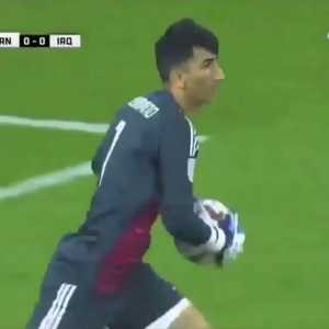 Alireza Beyranvand, Iran goalkeeper - They call him Iran Armstrong.