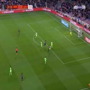 Barcelona 1-0 Levante [2-2 on agg.] - Ousmane Dembele 30'
