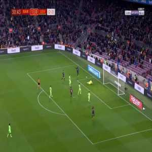 Barcelona 2-0 Levante [3-2 on agg.] - Ousmane Dembele 31'