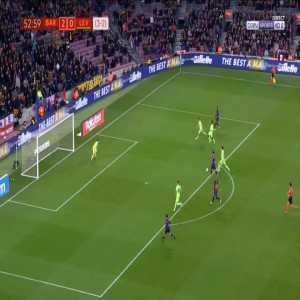 Barcelona 3-0 Levante [4-2 on agg.] - Lionel Messi 54'