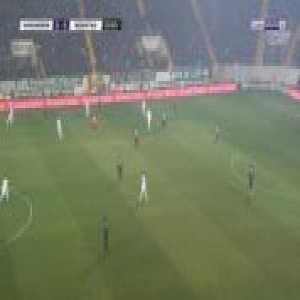 Akhisarspor 0-1 Besiktas - Dorukhan Tokoz 23'