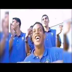Brazil 2000 Olympic team Samba led by Ronaldinho
