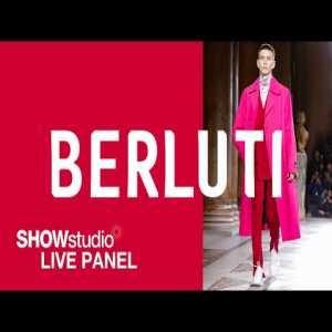 Eric Dier talks fashion on SHOWstudio Berluti panel