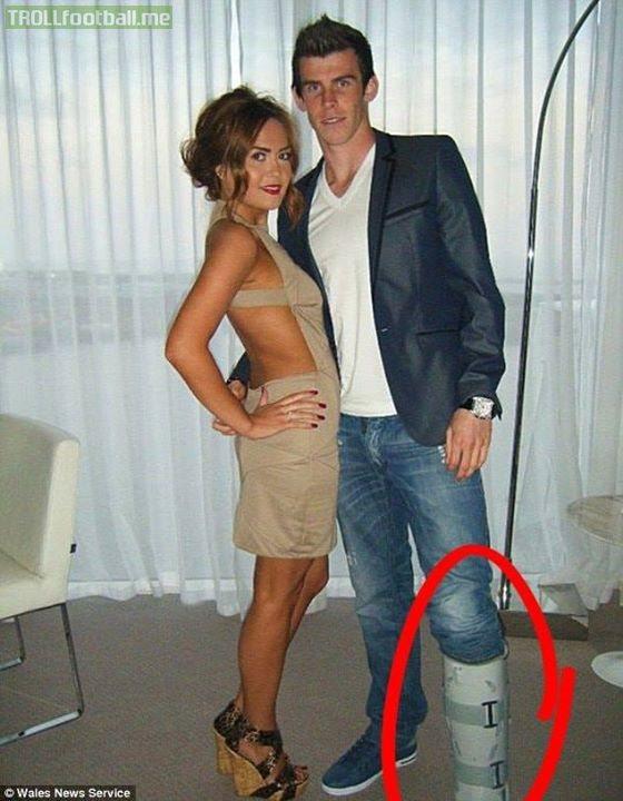 Gareth Bale 10YearChallenge