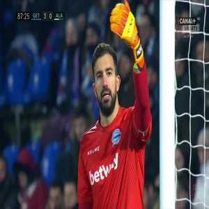 Getafe [4]:0 Deportivo Alavés - Jaime Mata 88'