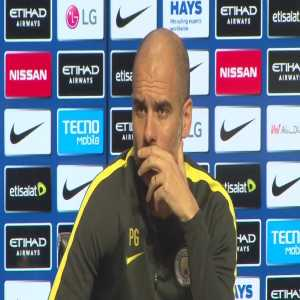 """Guardiola response to a journalists question about Stan Collymores recent criticism, """"Uh, Stan Collymore?"""""""
