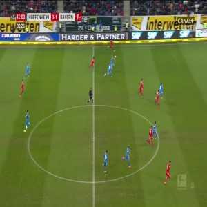 Hoffenheim 0:[2] Bayern München - Leon Goretzka 45+1'