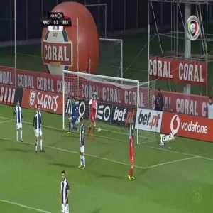 Nacional 0-3 Braga - Paulinho 86'