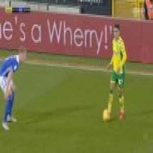 Norwich [2]-1 Birmingham - Mario Vrancic 22'