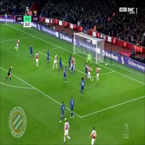 Arsenal [1]-0 Chelsea : Lacazette 14'