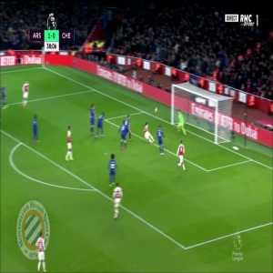 Arsenal [2]-0 Chelsea : Koscielny 39'