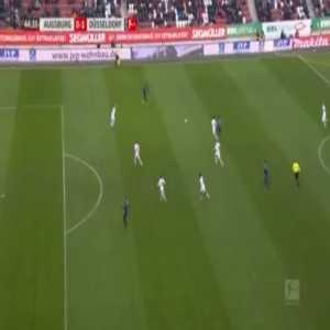 Augsburg 0-1 Dusseldorf - Marvin Ducksch 45'