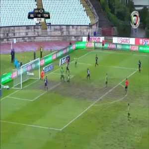 Belenenses 1-[1] Tondela - Bruno Monteiro 33'