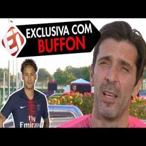 """Buffon : """" Neymar's the best I've ever played with"""""""