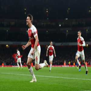 Laurent Koscielny has scored in each of his nine seasons in the Premier League and is the first Arsenal defender to net 20 goals in the competition.