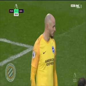 Manchester United [1]-0 Brighton : Pogba penalty 26'