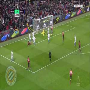 Manchester United [2]-0 Brighton : Rashford 42'