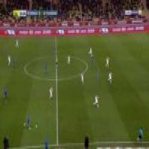 Monaco 0-1 Strasbourg - Ludovic Ajorque 12'
