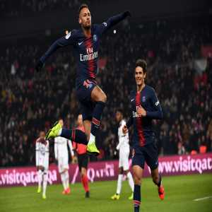 Neymar has scored 32 goals in 33 games in Ligue 1 with Paris, becoming the fastest player to reach this tally in the French top-flight in the last 45 seasons