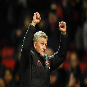 """Ole Gunnar Solskjaer is just the third #PL manager to win his first 6 matches with a certain club, after Carlo Ancelotti with Chelsea and Pep Guardiola with Man City."""