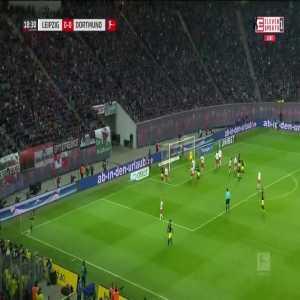 RB Leipzig 0:[1] Borussia Dortmund - Axel Witsel 19'