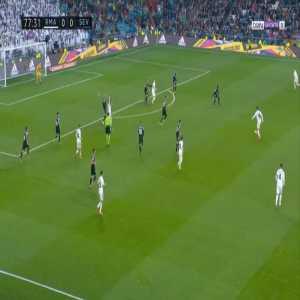 Real Madrid 1-0 Sevilla - Casemiro 77'
