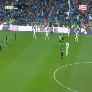 Real Madrid [2]:0 Sevilla - Luka Modrić 90+2'