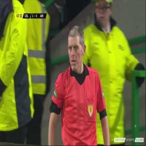 Scott Sinclair disallowed goal vs Airdrieonians