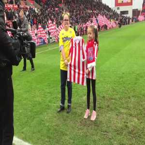 Stoke Citys tribute to Toby Nye ahead of today's game against Leeds