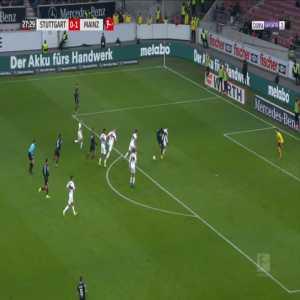 Stuttgart 0-2 Mainz - Jean-Philippe Mateta 28'