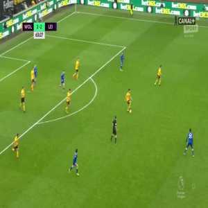 Wolverhampton Wanderers [3]:2 Leicester City - Diogo Jota 64'