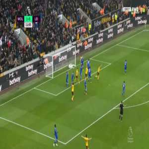 Wolves 2-0 Leicester - Ryan Bennett 12'