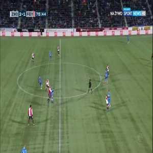 Zwolle [3]:1 Feyenoord - Younes Namli 76'