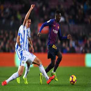 11 - Ousmane Dembélé completed 11 dribbles against Leganes (15 dribbles attempted), the most by a player in a La Liga game this season.